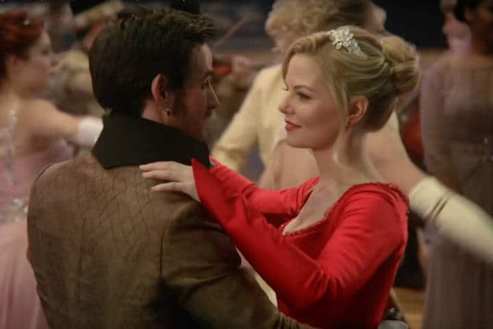 "The First Dance | Killian shows Emma he knows how to waltz in ABC's ""Once Upon a Time."""
