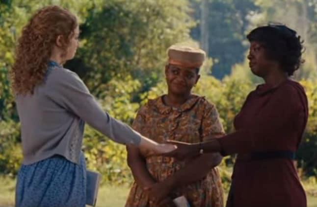 Emma Stone, Octavia Spencer & Viola Davis in The Help; Films Featuring Writers List