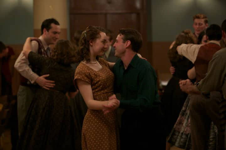 """The First Dance   Eilis and Tony share a dance in """"Brooklyn"""""""