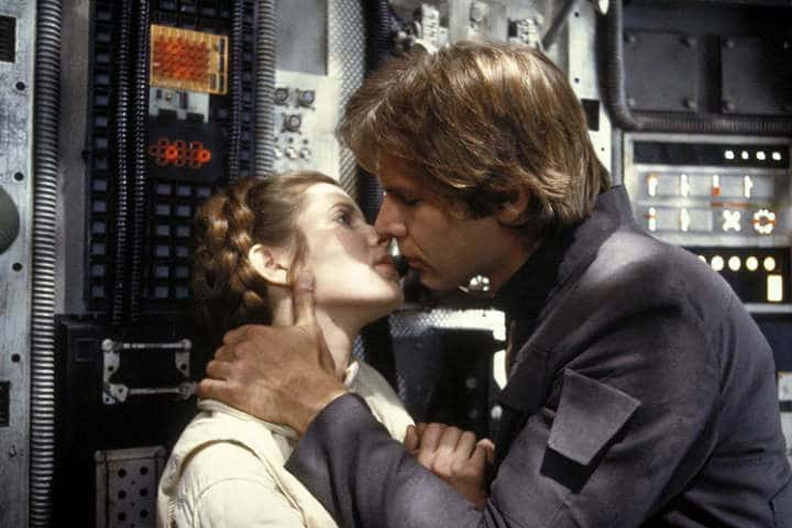 Romantic Moment of the Week: Han Solo and Princess Leia from 'The Empire Strikes Back'