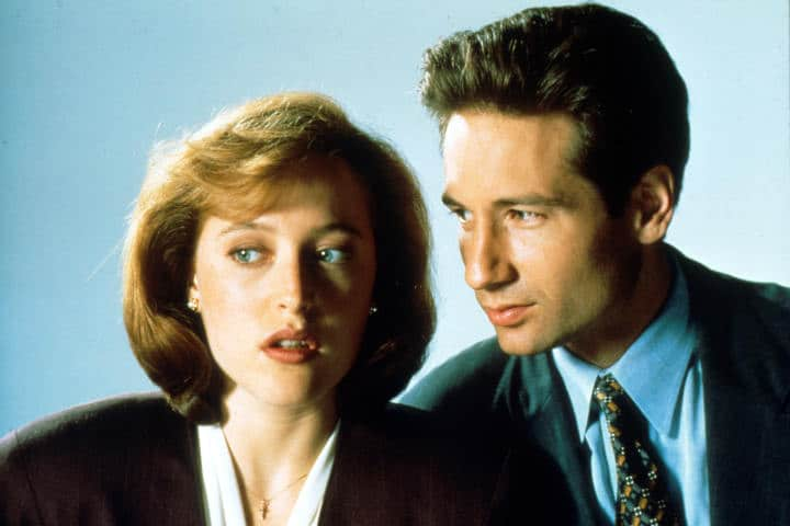 the x files scully and mulder