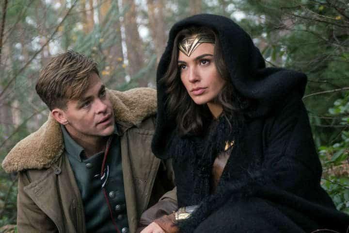Diana Prince and Steve Trevor