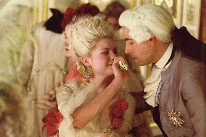 Shy couple, Marie Antoinette and Louis XVI