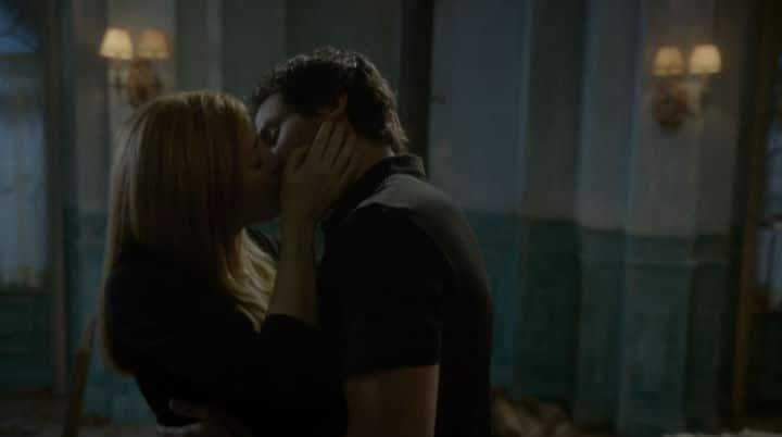 darius and grace kiss