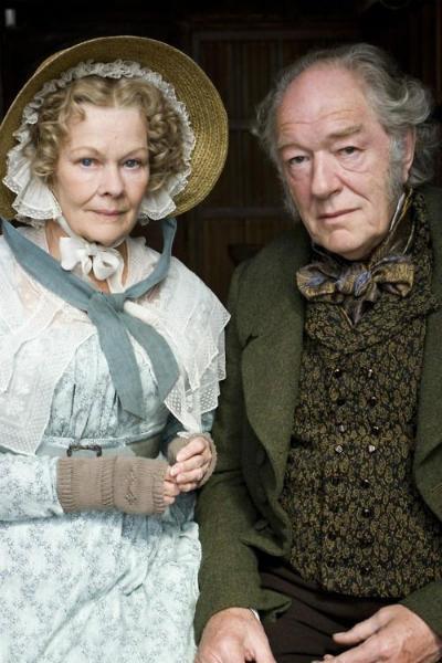 Judi Dench and Michael Gambon in Cranford.