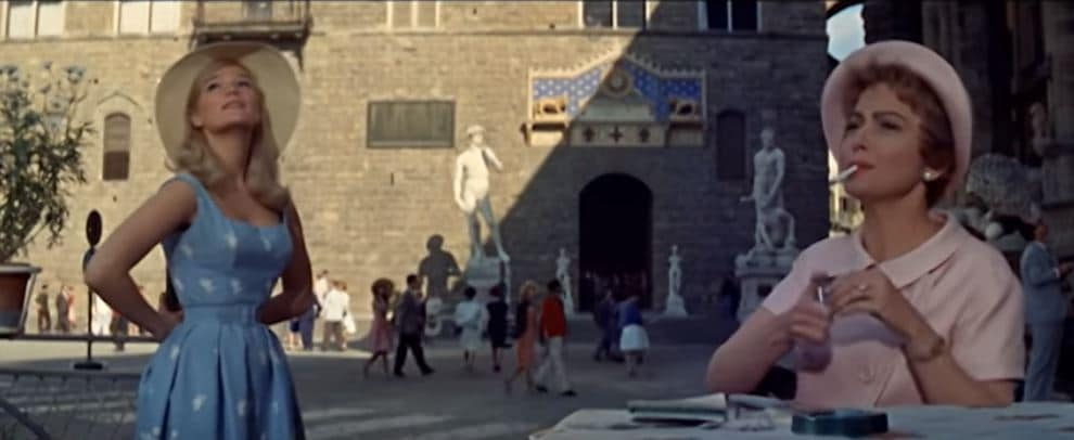 Light in the Piazza (1962) -Olivia de Havilland & Yvette Mimieux | Vintage Film Review: Light in the Piazza (1962) -The Story of a Mother's Love | The Silver Petticoat Review