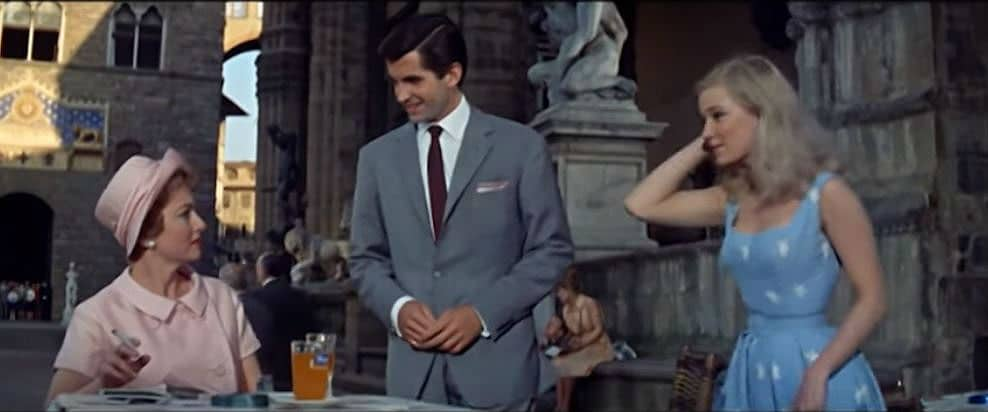 Light in the Piazza (1962) -Olivia de Havilland, George Hamilton & Yvette Mimieux | Vintage Film Review: Light in the Piazza (1962) -The Story of a Mother's Love | The Silver Petticoat Review