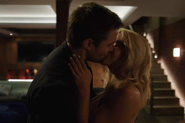 Arrow Oliver and Felicity - Olicity Reunited