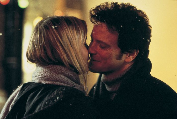 Romantic Moments in the Snow