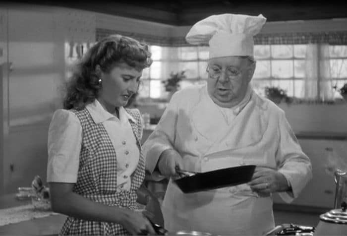 Barbara Stanwyck & S.Z. Sakall: Christmas in Connecticut