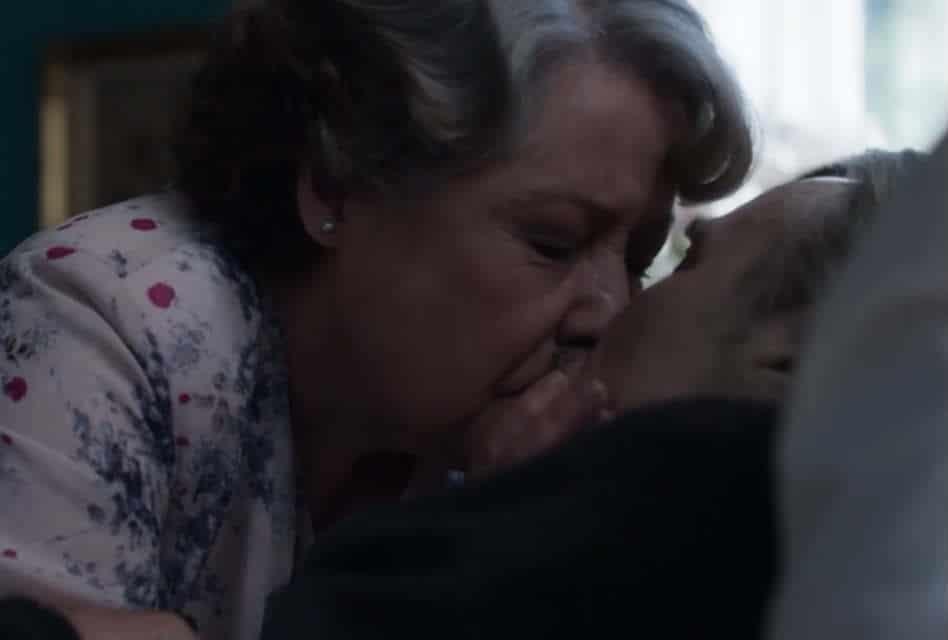 Elizabeth and Douglas Romantic Moment