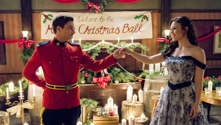When Calls the Heart Christmas, Hearties, Jack and Elizabeth, A Christmas Waltz