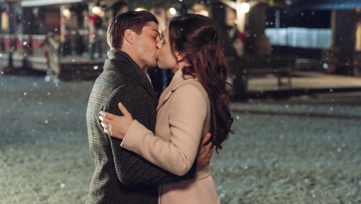 When Calls the Heart Christmas, Jack and Elizabeth, A Christmas Waltz, Hearties