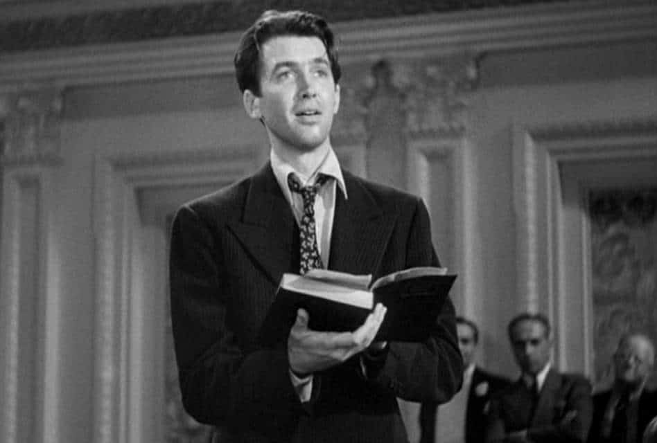 James Stewart in Mr. Smith Goes to Washington Review