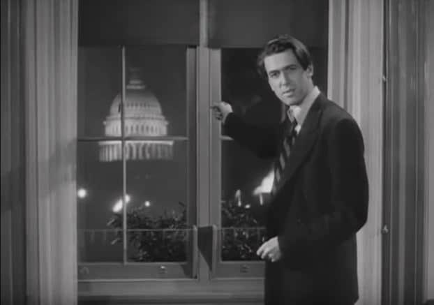 Jefferson Smith in Mr. Smith Goes to Washington
