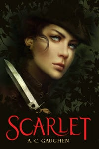 he Scarlet Trilogy, Romantic Retelling of Robin Hood, Young Adult, Old-Fashioned Romance, Fascinating Twist on a Classic Tale