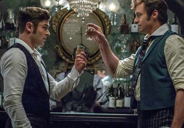 Zac Efron & Hugh Jackman in The Greatest Showman