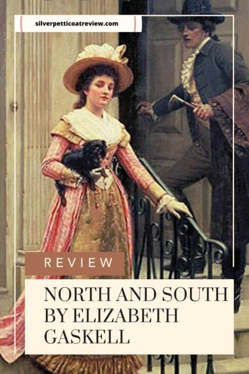 north and south book review; pinterest image