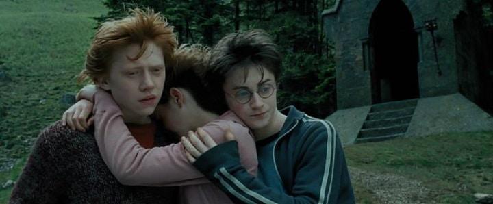Harry Potter Prisoner of Azkaban harry ron hermione