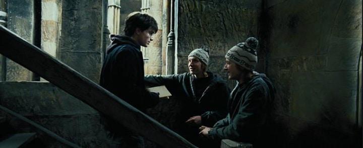 Harry Potter Prisoner of Azkaban mauraders map