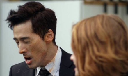 Romantic Moment of the Week: Tempers Flare and Food Flies as Joon and Claire Hash It Out in Dramaworld