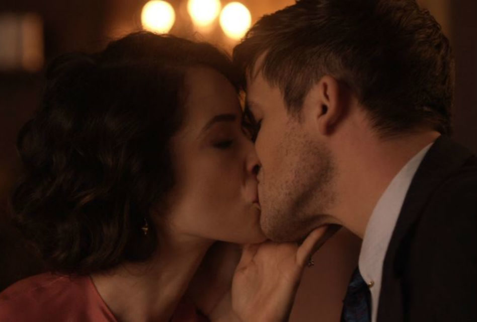 Romantic Moment of the Week – The Locking of Lips of Lucy and Wyatt from Timeless