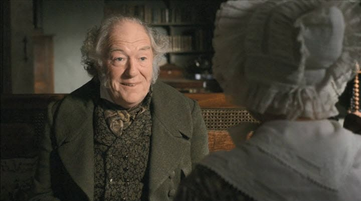 Cranford's Matty and Thomas; Cranford, Period Romance, Old-Fashioned Romance; BBC