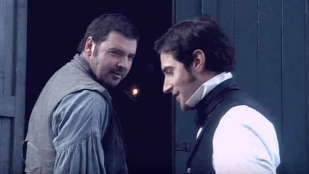 Brendan Coyle and Richard Armitage as Higgins and Thornton in North and South; When Men Friend - 23 Onscreen Bromances We Love