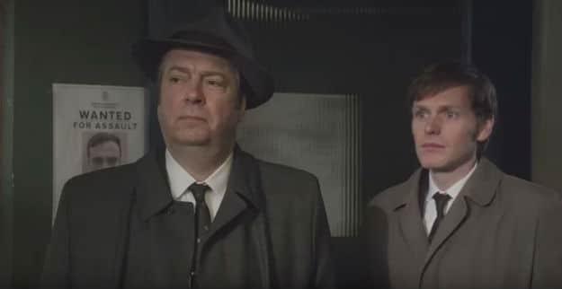 Roger Allam & Shaun Evans as Thursday and Morse in Endeavour
