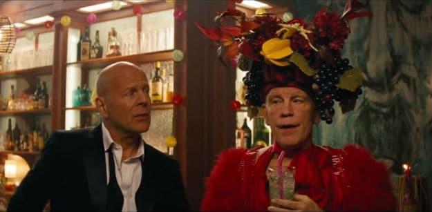 Bruce Willis & John Malkovich in RED