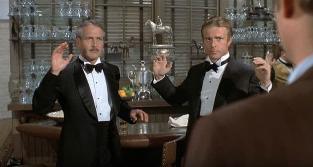 Paul Newman & Robert Redford in The Sting