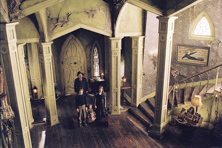 A Series of Unfortunate Events; 150 of the Best Gothic & Paranormal Romance Period Dramas