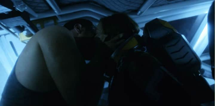 Lost in Space Kiss