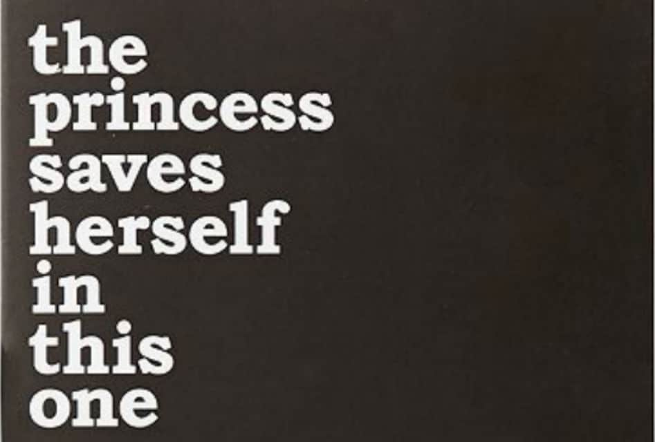 the princess saves herself in this one -A Powerful Poetry Collection