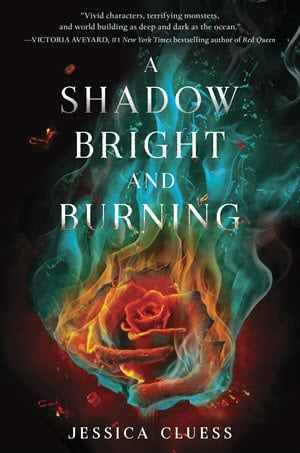A Shadow Bright and Burning; Jessica Cluess, Fantasy, Young Adult, Romance