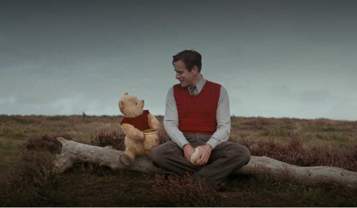 Christopher Robin, Winnie the Pooh, Movie Review