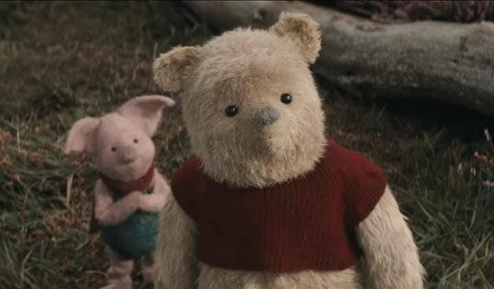 Christopher Robin, Winnie the Pooh, Piglet, Movie Review