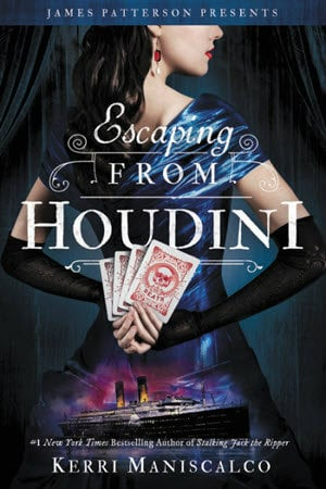15 Fall Book Releases; Romance, Old-Fashioned Romance, Fantasy, Young Adult, Young Adult Romance, Modern Romanticism, Period Romance, Escaping from Houdini, Kerri Maniscalco