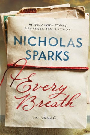 15 Fall Book Releases; Romance, Old-Fashioned Romance, Fantasy, Young Adult, Young Adult Romance, Modern Romanticism, Nicholas Sparks, Every Breath