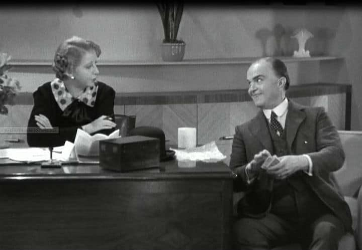 Helen Broderick & Victor Moore in Swing Time