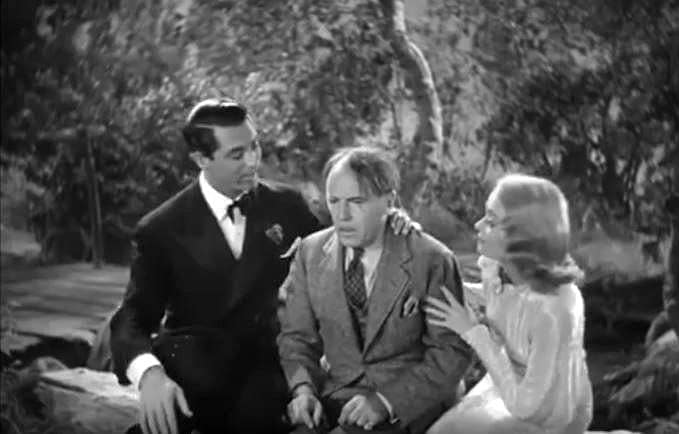 Cary Grant, Roland Young & Constance Bennett in Topper