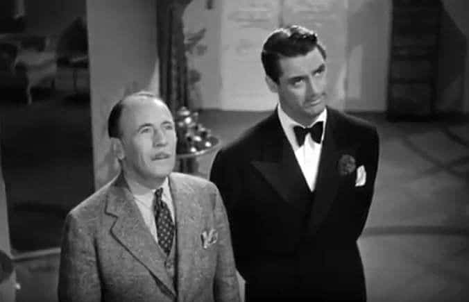 Roland Young & Cary Grant in Topper