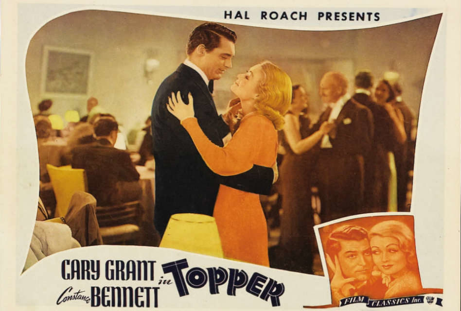 Topper (1937) Review -A Hilarious Ghost Story with Cary Grant