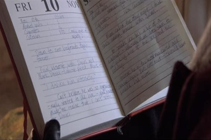 National Dear Diary Day, Lists, Bridget Jones's Diary, Dear Diary, Rom-Com