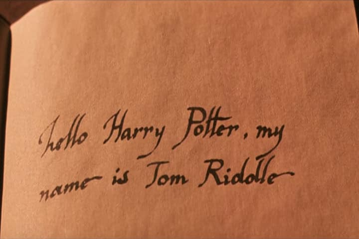 National Dear Diary Day, Lists, Harry Potter