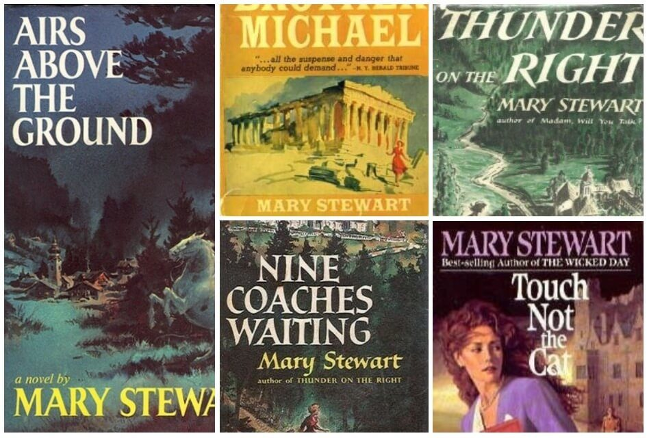 Why You Should be Reading Mary Stewart, the Mid-Century Queen of Romantic Suspense