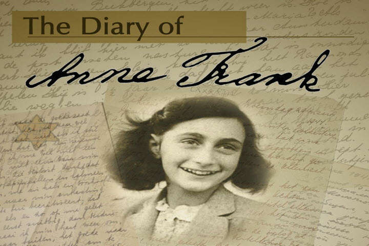 National Dear Diary Day, Lists, True Stories, Anne Frank, Classic Films, Novels