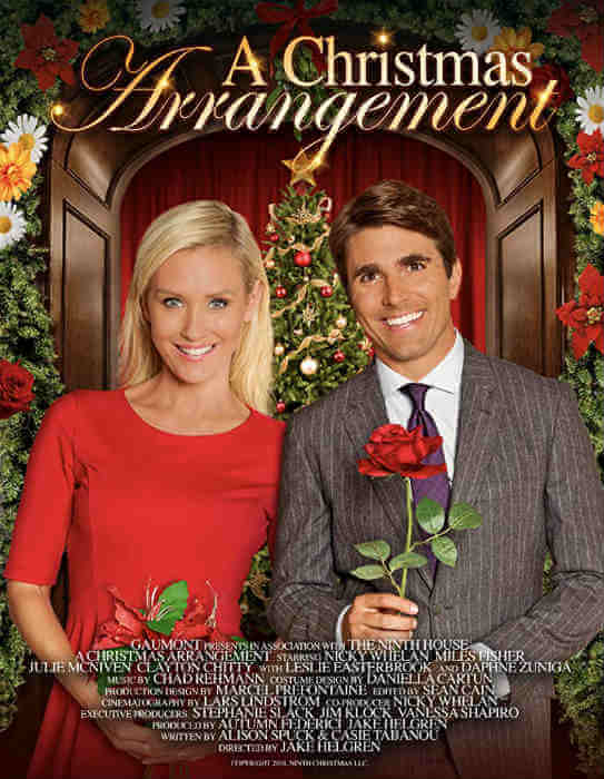 A Christmas Arrangement; 24 New Lifetime Christmas Movies To Watch