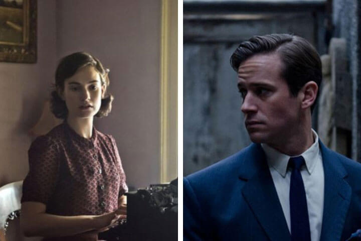 Lily James and Armie Hammer announced in new Rebecca adaptation; Romance and Period Drama News Roundup: A New 'Rebecca' Adaptation, The Spring Masterpiece Schedule, and More