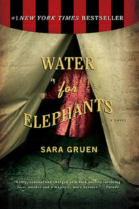 NaNoWriMo, Water for Elephants, Sara Gruen, Romance, Historical Fiction